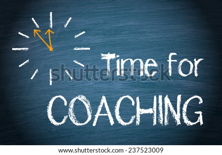 Time for Coaching - stock photo