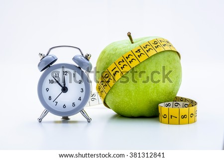 Time For Diet - stock photo