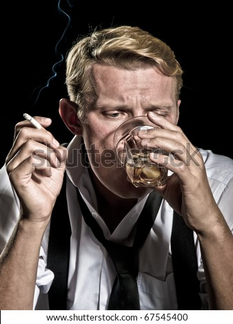 time for drink - stock photo