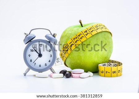 Time For Healthy Eating - stock photo