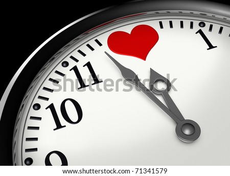 time for love - stock photo