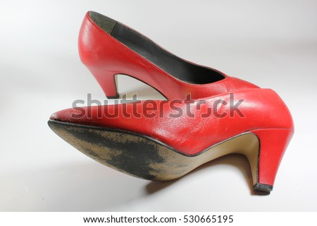 Time for new shoes, now? / Red Shoes