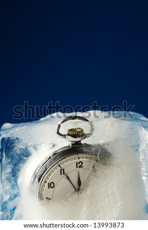 Time for refreshing - stock photo