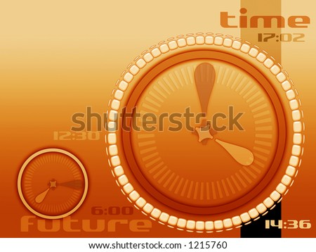 time future and past layout for internet industry and others and for many different concept - stock photo