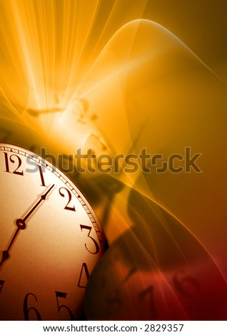 time illustration - stock photo