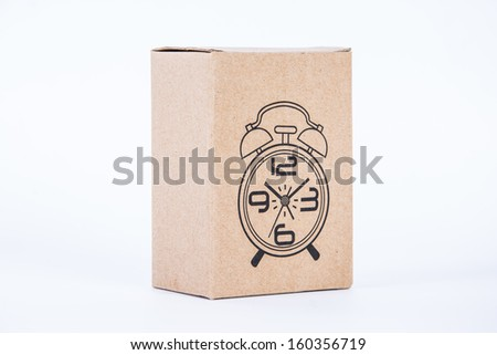 time in box - stock photo