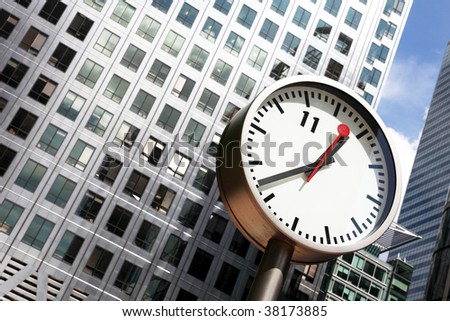 time is a valuable thing - stock photo