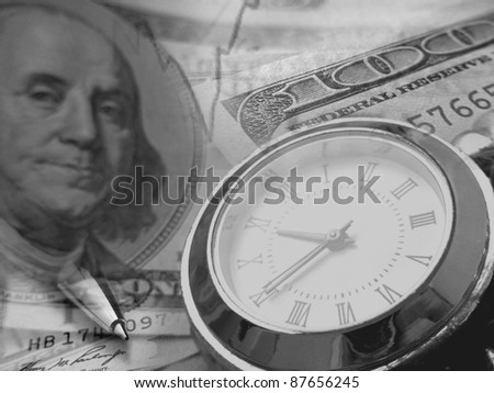 Time is money. Business concept. - stock photo