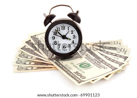 Time is money concept - stock photo