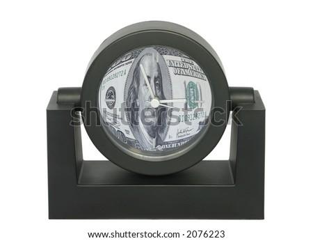 time is money metaphor - no copyright infringement - stock photo