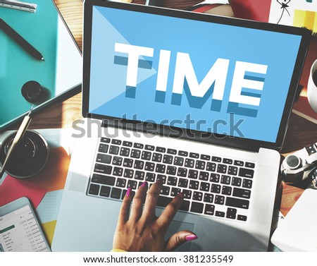 Time Management Punctual Duration Schedule Concept