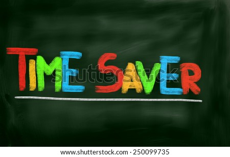 Time Saver Concept - stock photo