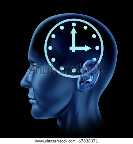 time schedule appointment late clock Brain head mind idea intelligence