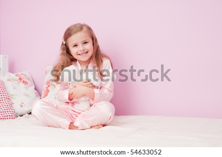 Time to bed ( No-name teddy bear ) - stock photo