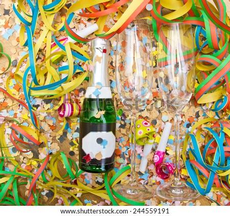 Time to celebrate  - stock photo