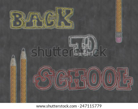 Time to Go Back to School - stock photo