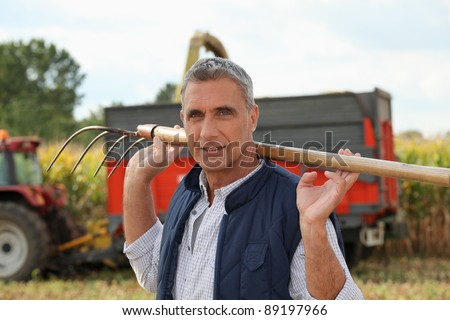 Time to harvest - stock photo