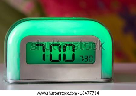 Time To Wake - stock photo