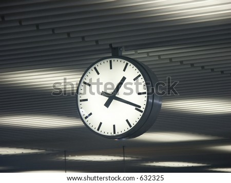 Time travels - stock photo