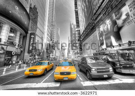 Times Square - Manhattan - stock photo