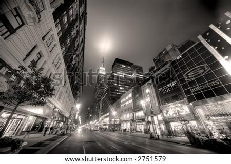 Times Square, Manhattan,NY - stock photo