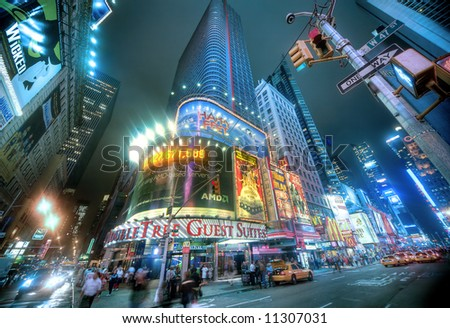 times square - new york city - stock photo