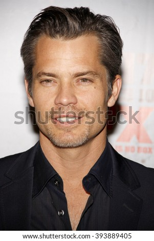 "Timothy Olyphant at the FX's Season 3 Screening of ""Justified"" held at the DGA Theater in Los Angeles, USA on January 10, 2012."