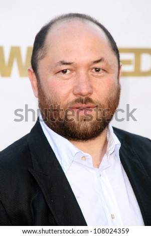 """Timur Bekmambetov  at the World Premiere of """"Wanted"""". Mann Village Westwood, Westwood, CA. 06-19-08 - stock photo"""