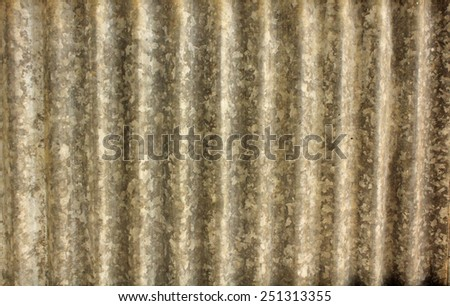 tin background - stock photo