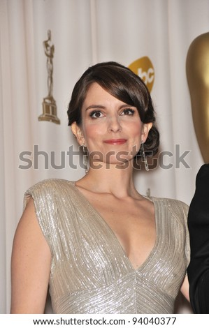 Tina Fey at the 81st Academy Awards at the Kodak Theatre, Hollywood. February 22, 2009  Los Angeles, CA Picture: Paul Smith / Featureflash