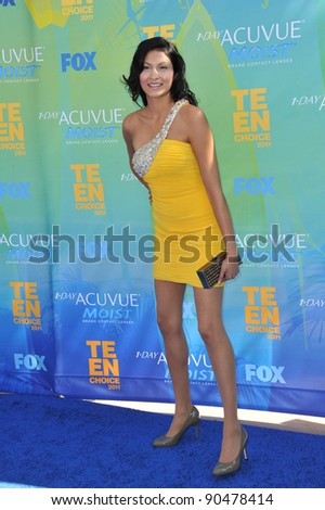 Tinsel Korey at the 2011 Teen Choice Awards at the Gibson Amphitheatre, Universal Studios, Hollywood. August 7, 2011  Los Angeles, CA Picture: Paul Smith / Featureflash