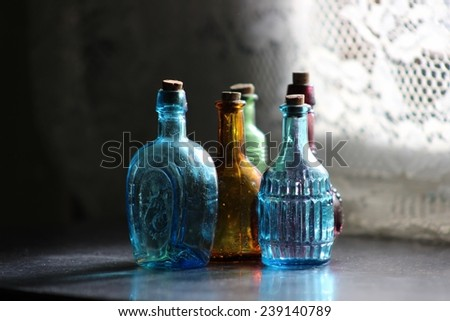 Tiny Glass Bottles