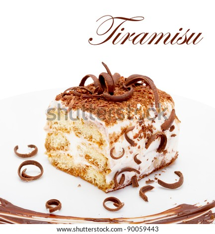 Tiramisu - stock photo
