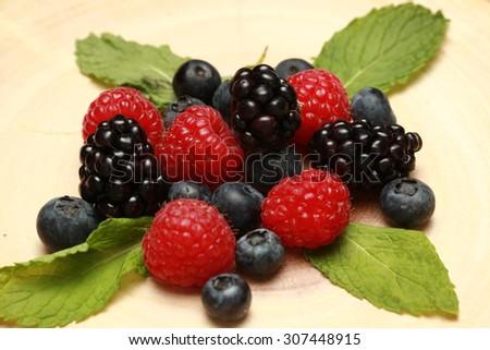 tiramisu in edible cup - stock photo