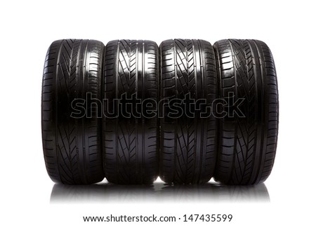 tire - stock photo