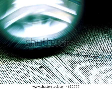 tire motion - stock photo
