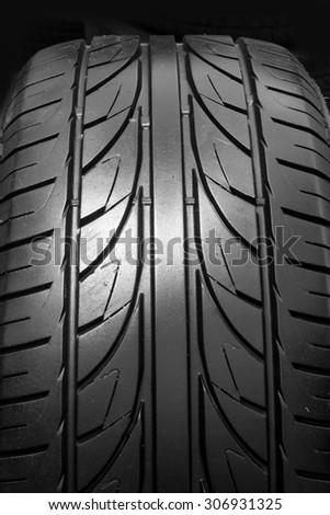 Tire textured for background. rubber - stock photo