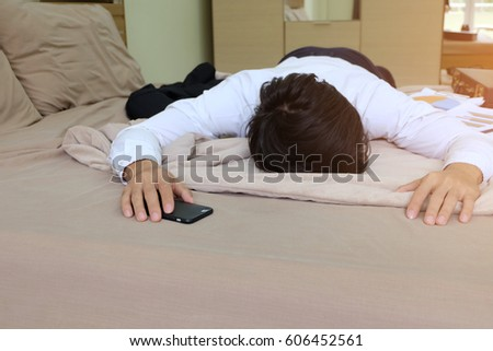 Tired Person In Bed | www.pixshark.com - Images Galleries ...