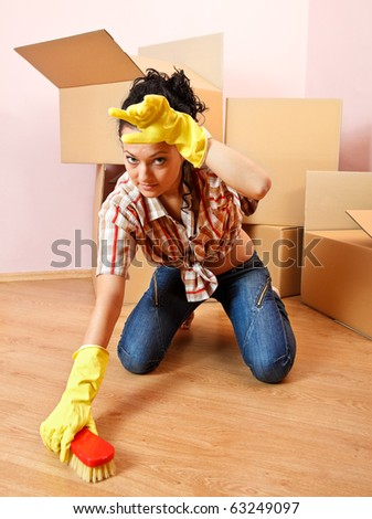 Scrub The Floor Stock Images Royalty Free Images