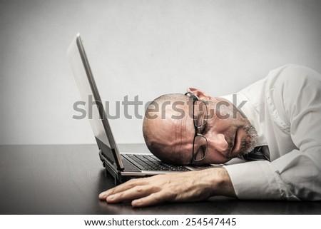 Tiredness  - stock photo