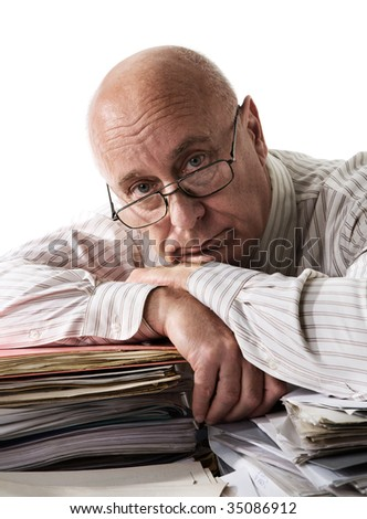 Tiredness - stock photo