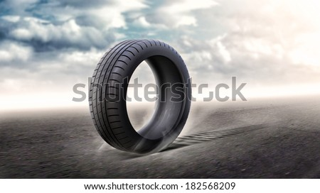 Tires - stock photo
