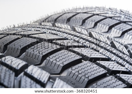 tires for cars - stock photo