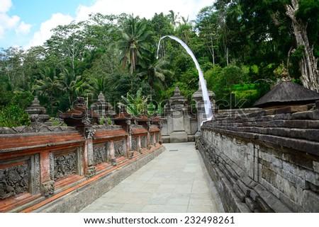 Tirta Empul Temple, Bali, Indonesia - stock photo