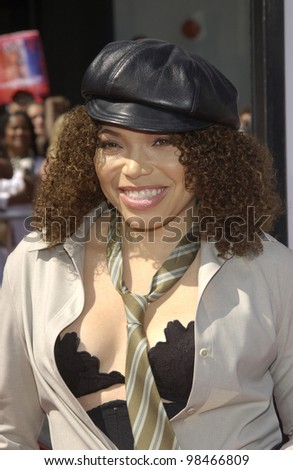 TISHA CAMPBELL at the 3rd Annual BET (Black Entertainment TV) Awards at the Kodak Theatre, Hollywood. June 24, 2003  Paul Smith / Featureflash