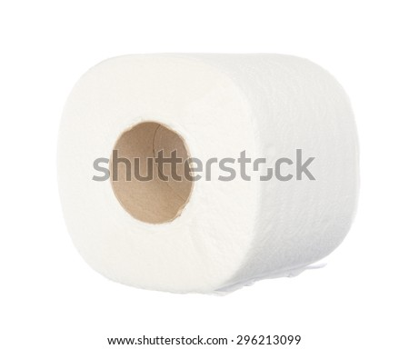 Tissue isolated on white background