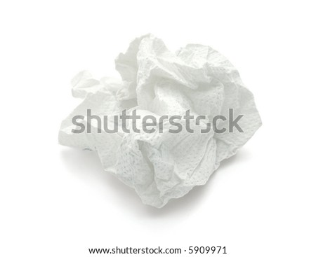 tissue-paper - stock photo