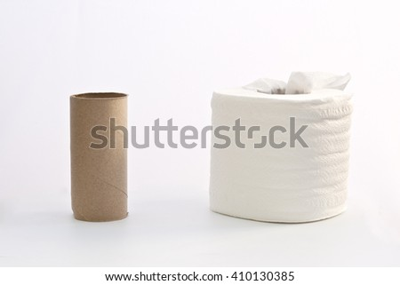 tissue roll, full and empty, mean be different