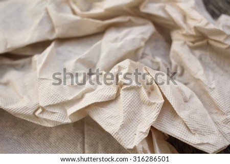 Tissues paper background