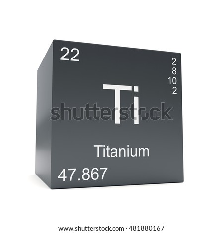Titanium chemical element symbol periodic table stock illustration titanium chemical element symbol from the periodic table displayed on black cube 3d render urtaz Choice Image